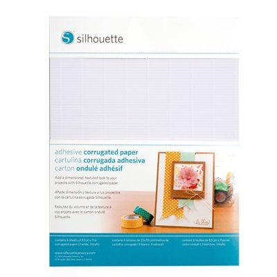 Papel adhesivo corrugador, 3 white