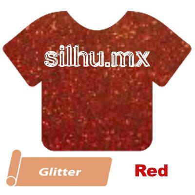 Vinil Textil Siser Glitter Red
