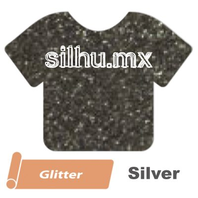 Vinil Textil Siser Glitter Silver