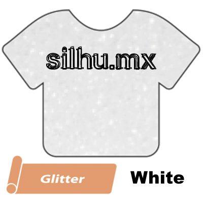 Vinil Textil Siser Glitter White